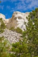 Abraham Lincoln, Mount Rushmore, South Dakota Fine-Art Print