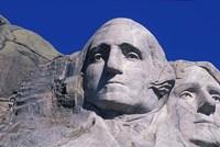 Presidents Washington and Jefferson, Mount Rushmore, South Dakota Fine-Art Print