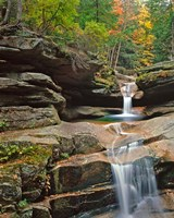 Sabbady Falls,White Mountains National Forest New Hampshire Fine-Art Print