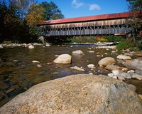 Albany Covered Bridge, White Mountain National Forest, New Hampshire Fine-Art Print