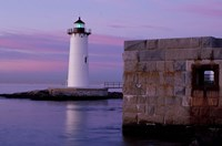 Fort Constitution, State Historic Site, Portsmouth Harbor Lighthouse, New Hampshire Fine-Art Print
