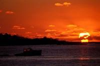 Sunrise at the Mouth of Piscataqua River, New Hampshire Fine-Art Print