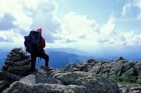 Backpacking, Appalachian Trail, New Hampshire Fine-Art Print
