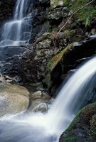 Coosauk Falls, Bumpus Brook, White Mountain National Forest, New Hampshire Fine-Art Print
