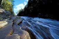 Ammonoosuc River Falls, Cohos Trail, New Hampshire Fine-Art Print