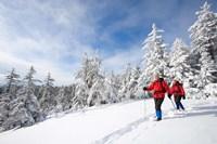 Winter Hiking on Mount Cardigan, Clark Trail, Canaan, New Hampshire Fine-Art Print