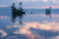 Dawn on Lake Winnepesauke, Moultonboro Neck, Moultonboro, New Hampshire Fine-Art Print