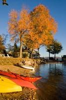 Kayaks, Lake Winnipesauke, New Hampshire Fine-Art Print