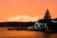 Sunset in Wolfeboro, New Hampshire Fine-Art Print