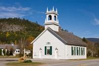 Union Church, Downtown Stark, New Hampshire Fine-Art Print