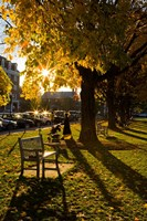 Late afternoon on the Dartmouth College Green,  New Hampshire Fine-Art Print