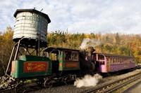 Railroad on Mt Washington in Twin Mountain, New Hampshire Fine-Art Print