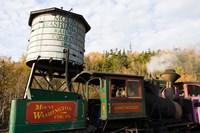 The Cog Railroad on Mt Washington in Twin Mountain, New Hampshire Fine-Art Print