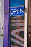 A street scene in downtown Littleton, New Hampshire Fine-Art Print
