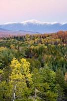 Dusk and Mount Washington, White Mountains, Bethlehem, New Hampshire Fine-Art Print