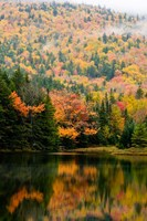 Ammonoosuc Lake in fall, White Mountain National Forest, New Hampshire Fine-Art Print