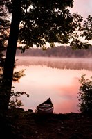 Canoe, Pawtuckaway Lake, New Hampshire Fine-Art Print
