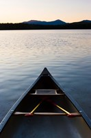 Canoe, White Lake State Park, New Hampshire Fine-Art Print