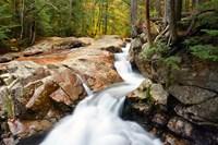 Autumn on Pemigewasset River, Franconia Notch SP, New Hampshire Fine-Art Print