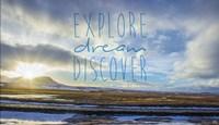 Explore Dream Discover Fine-Art Print