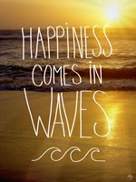 Happiness In Waves Fine-Art Print