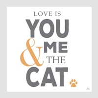 You Me and the Cat Fine-Art Print