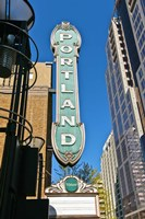 Portland Landmark Sign, Portland, Oregon Fine-Art Print