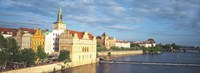 Waterfront, Prague, Czech Republic Fine-Art Print