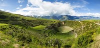 Circular Inca Terraces of Moray, Machupicchu, Peru Fine-Art Print