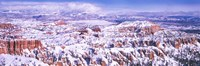 Snow Covered Bryce Canyon, Utah Fine-Art Print