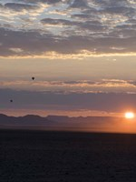 Hot Air Balloons at Dusk, Namib-Naukluft National Park, Namibia Fine-Art Print