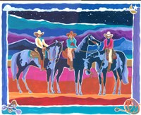 Three Cowgirls Fine-Art Print