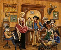 Wild Wild West Saloon Fine-Art Print