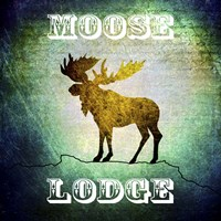 Lodge Moose Lodge Fine-Art Print