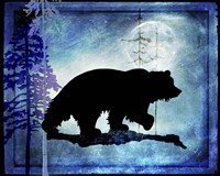 Midnight Bear Fine-Art Print