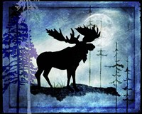 Midnight Moose Fine-Art Print