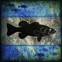 Fishing Rules Bass Fine-Art Print
