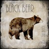 Moose Lodge 2 - Black Bear Fine-Art Print