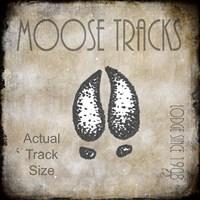 Moose Lodge 2 - Moose Tracks 2 Fine-Art Print