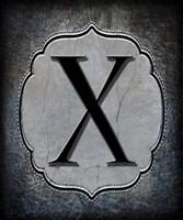 Letter X Fine-Art Print