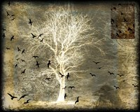 A Raven's World Spirit Tree Fine-Art Print