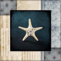 Blue Sea Bumpy Star Fine-Art Print