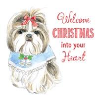 Glamour Pups Christmas II Fine-Art Print
