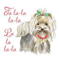 Glamour Pups Christmas VI Fine-Art Print