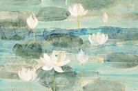 Water Lilies Bright Fine-Art Print