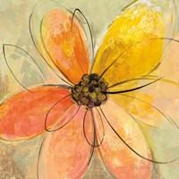 Neon Floral II Fine-Art Print