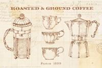 Authentic Coffee I Fine-Art Print