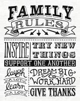 Family Rules II Fine-Art Print