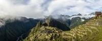 ruins at Machu Picchu, Peru Fine-Art Print