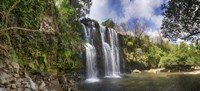 View of Waterfall, Cortes, Bagaces, Costa Rica Fine-Art Print